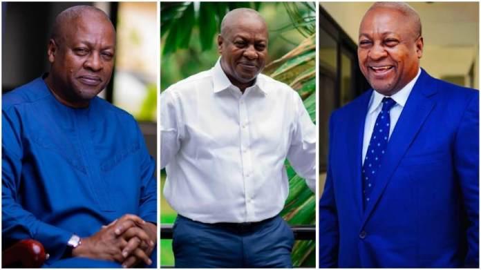 Former President John Mahama loses his cool and dirty himself on Social Media