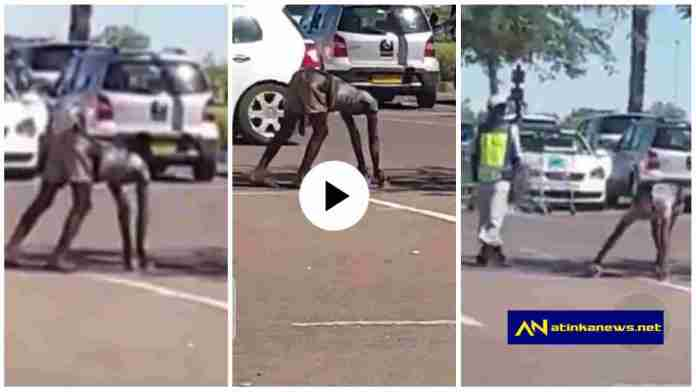 Woman turns into goat after picking money she dropped for school kids; shocking video drops