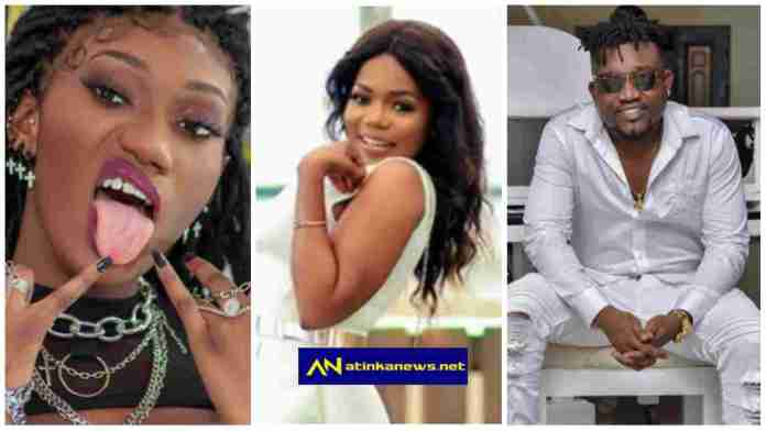 Mzbel reveals why Bullet and Wendy Shay are said to be lovers