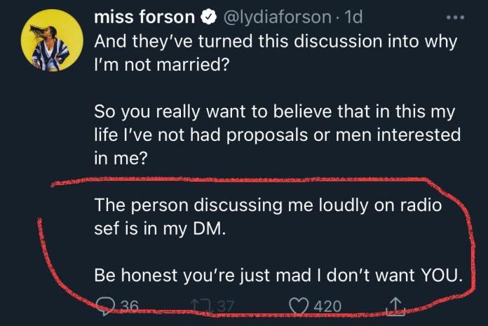 Lydia Forson