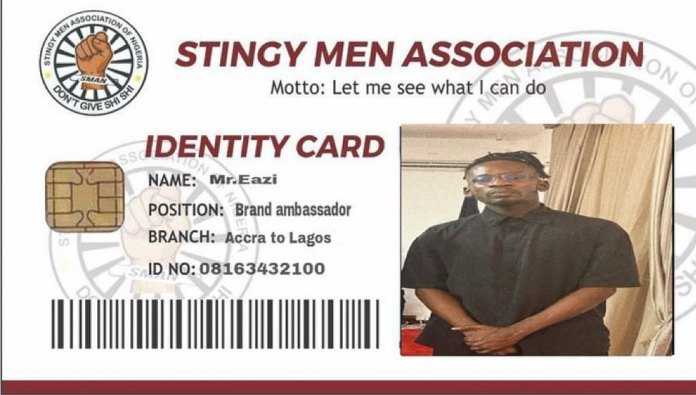 Stingy Men Association