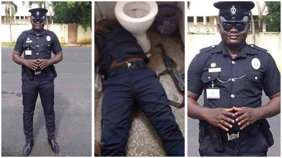 Ghana Police officer Constable Eugene Yelnona  commits suicide