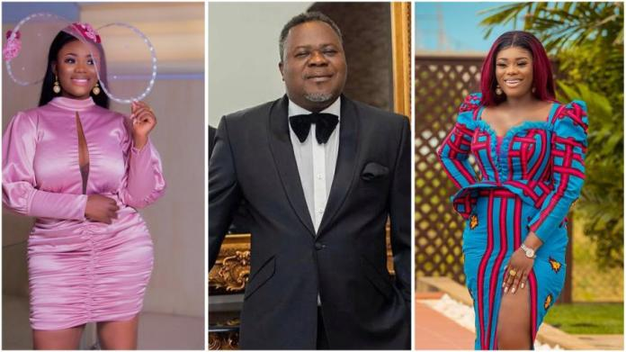Akua GMB and Dr Kwaku Oteng's divorce