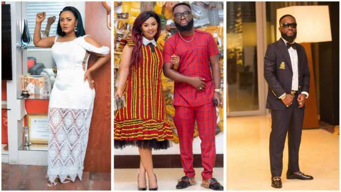 Nana Ama McBrown's husband finally speaks after being accused of getting wife's friend pregnant