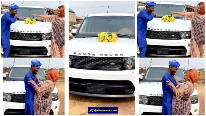 Omoborty surprises actor Ijebu with brand new Range Rover