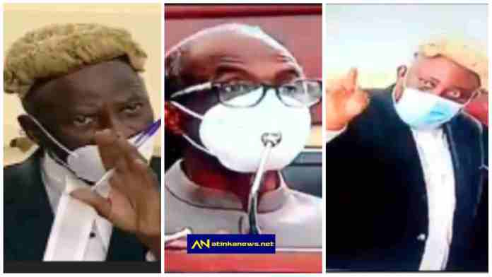 """""""Answer the questions, don't lecture me"""" – Lawyer Akoto Ampaw blast Aseidu Nketiah's witty way of answering questions in court [Video]"""