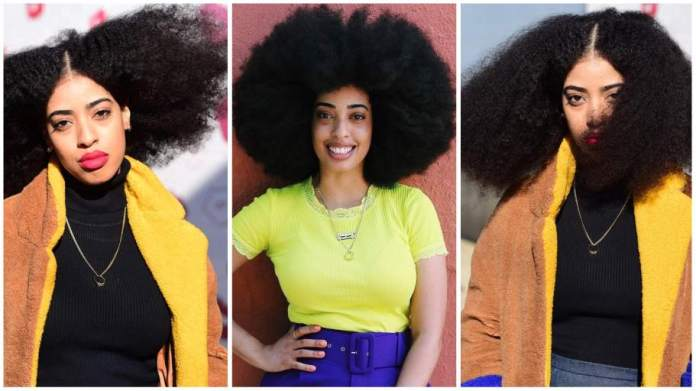 Simone Williams Woman with the world's largest Afro shares her hair secrets