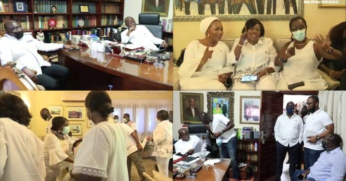 Akufo Addo and Bawumia