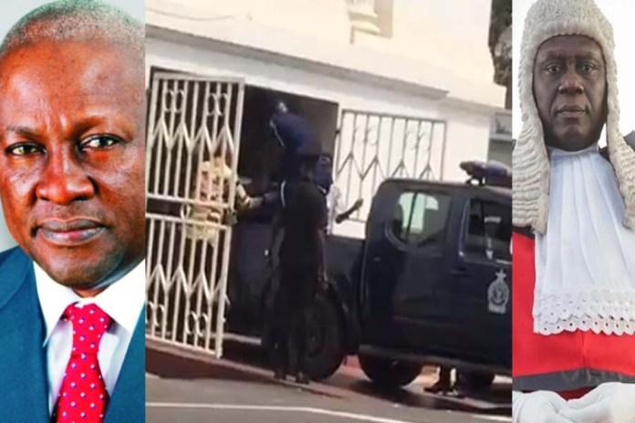 Man dies after Supreme Court dismissed John Mahama