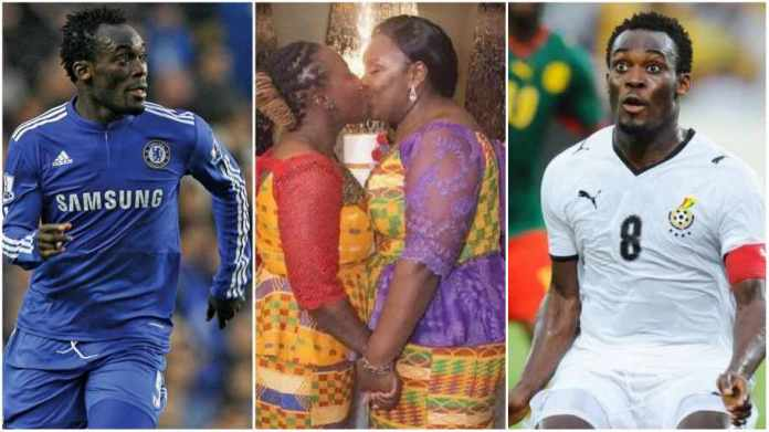 Michael Essien throw support behind g@ys and l£sbians in Ghana