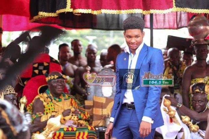 Meet all the 7 biological children of Otumfou Osei Tutu II