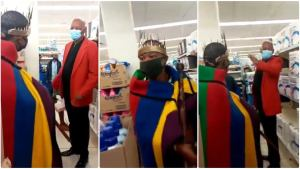 Ndebele Man in his native attire told to leave Clicks store