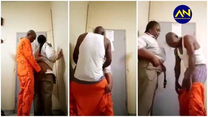 Prison warder video update