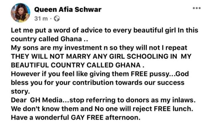 Afia Schwar
