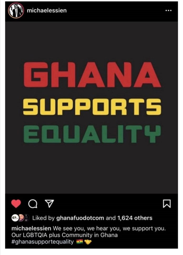 Michael Essien throw support behind gays and lesbians in Ghana