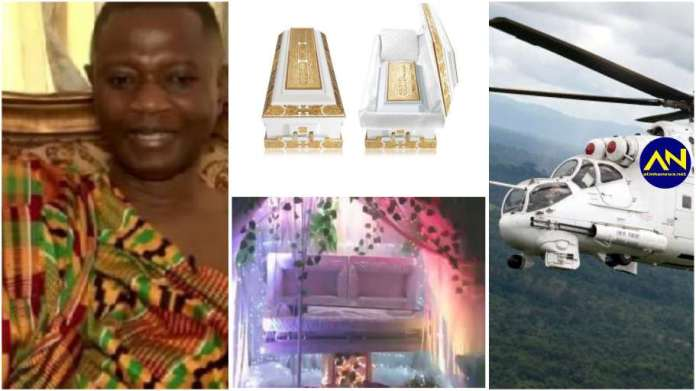 A look into the most expensive and biggest funeral ever held in Ghana [watch]