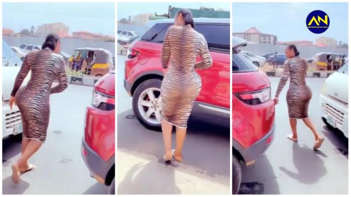 Slay queen cause traffic