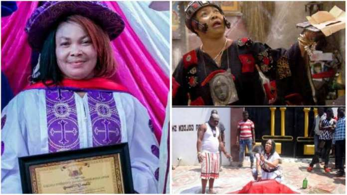 Nana Agradaa ditches her deities, converts to Christianity after Jesus Christ rescue her
