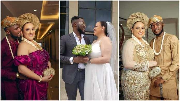 Nigerian man gets married to Oyinbo lady