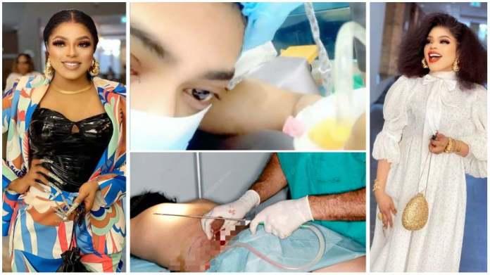 Bobrisky surgery video