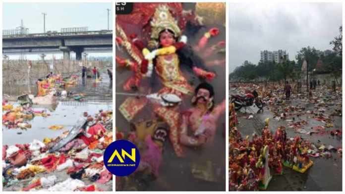 Over 1,000 angry Indians throw out their gods as COVID-19 cases keep increasing after sacrifices [Video]