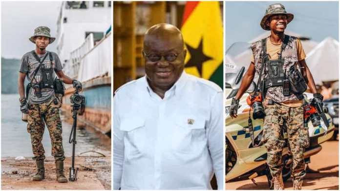 It was because of leaked photo – Twins Dnt Beg tells why they were fired as Akufo-Addo's official photographers