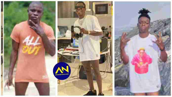"""Man walks in town without """"pants"""" after Shatta Wale sets the trend"""