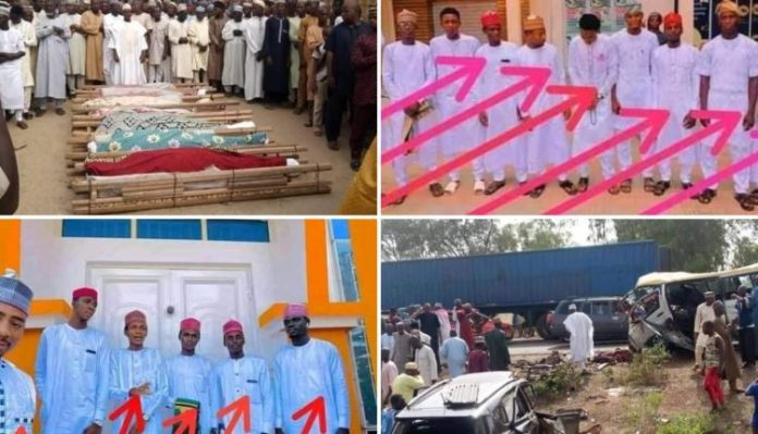 Tears flow as 17 friends die in ghastly accident while returning from wedding