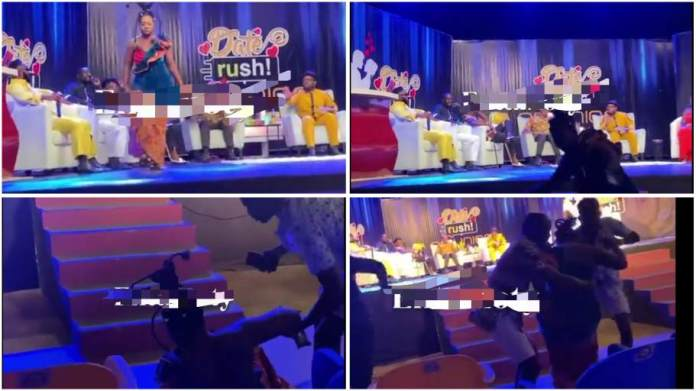 Date Rush Reunion: Watch the embarrassing moment Ruth fell down on stage [video]