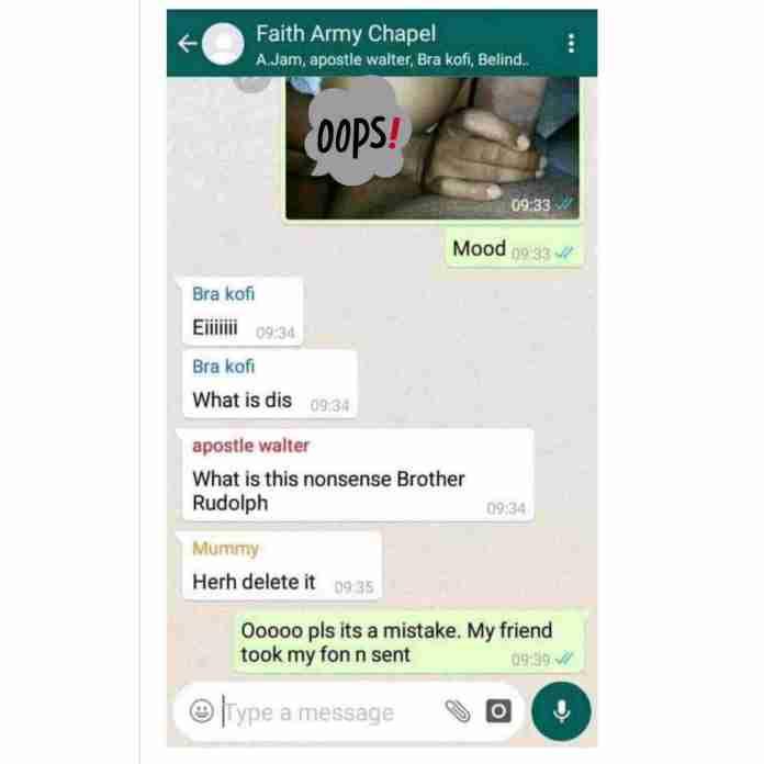 church WhatsApp group