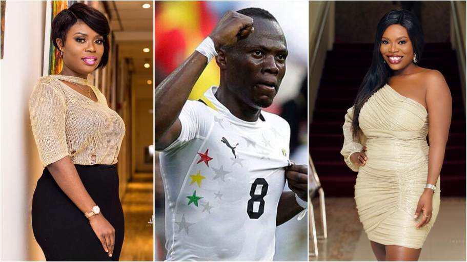 Agyemang Badu finally breaks silence on dating rumours with Delay