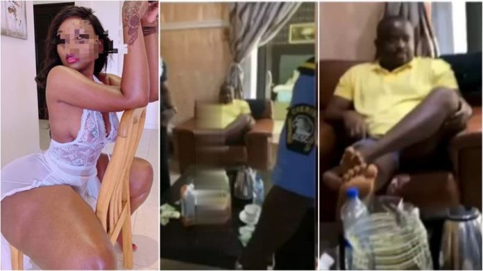 Drama as lady calls police after a man who promised to give her 3,000 for a night of 'fun' refused to pay [video]