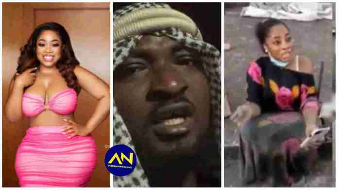Funny Face mocks Moesha Buduong in his current Instagram video