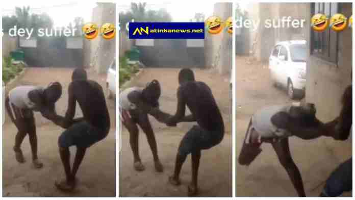 guy drags a lady to go and chop after spending enough on her