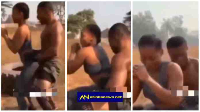 """gym instructor """"grinding"""" another man's woman in the name of training her"""