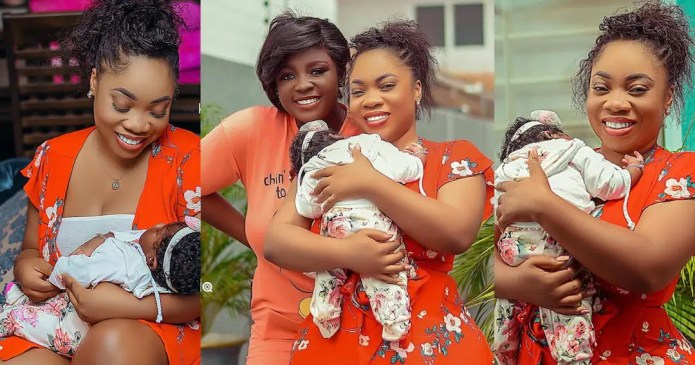 Sad video of Tracey Boakye drops online as Moesha's condition worsens [Watch]