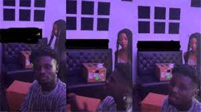 Kuami Eugene and his house help warm hearts with their studio time video