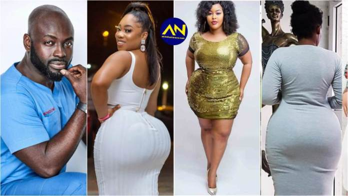 Here's how much it cost to have butt enlargement surgery – Doctor Obeng
