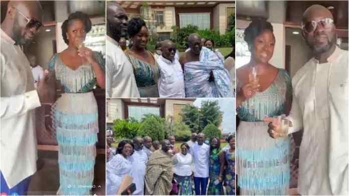 Maxwell Kofi Jumah's son marries prez Akufo-Addo's 3rd daughter