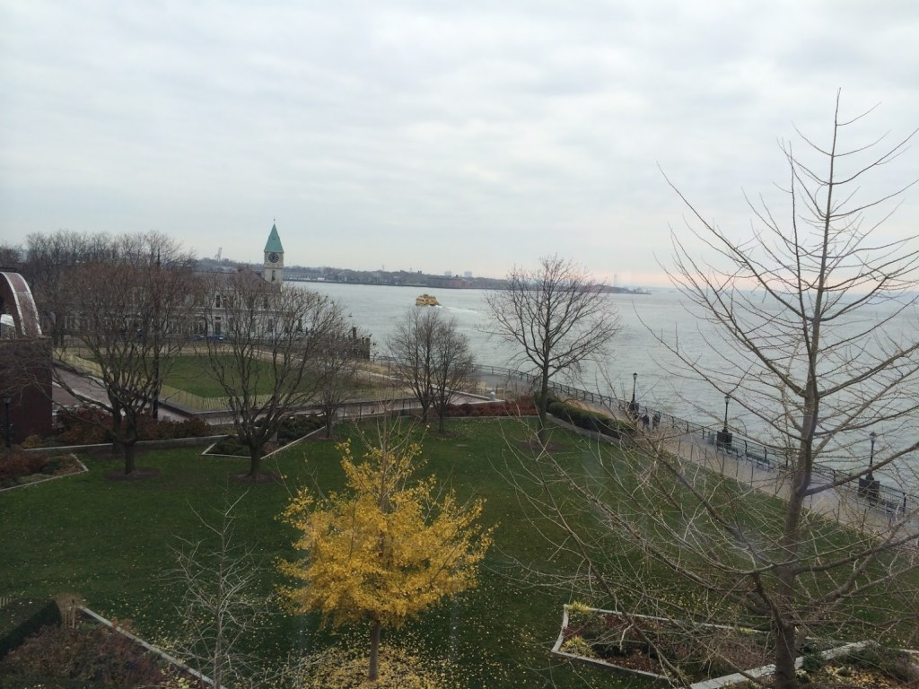 Wagner park, as seen from the Museum of Jewish Heritage
