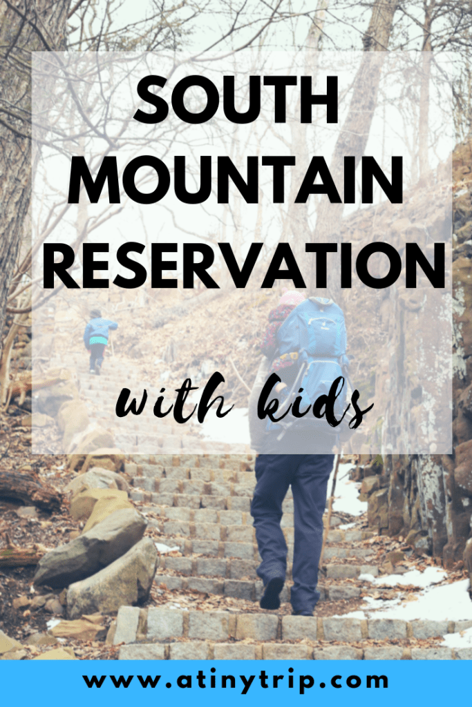 south mountain reservation with kids graphic