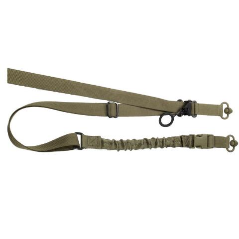2-Point Quick-Adjust Tactical QD Sling in Black or FDE
