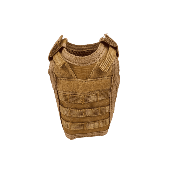 FDE Tan Tactical Vest Koozie