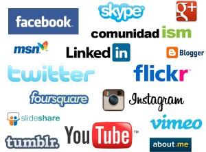 redes sociales conocidas y que trabajamos