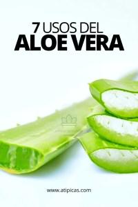 7 usos o beneficios del Aloe vera