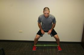 Lateral Mini-Band Steps