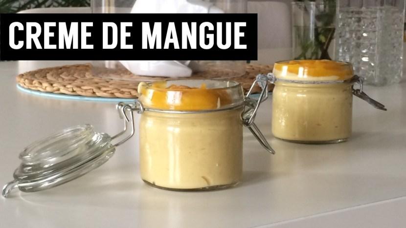 recettes végétariennes et vegan - atirelarigot - Crème de mangue