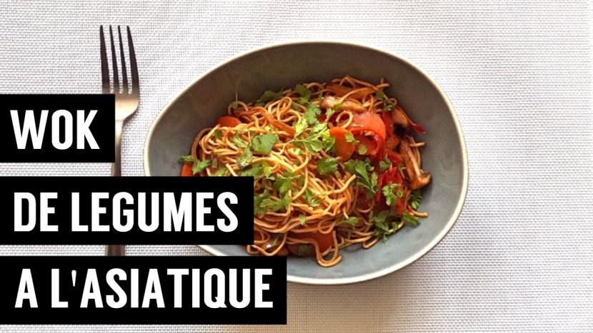 recettes végétariennes et vegan - atirelarigot - wok de legumes a l asiatique