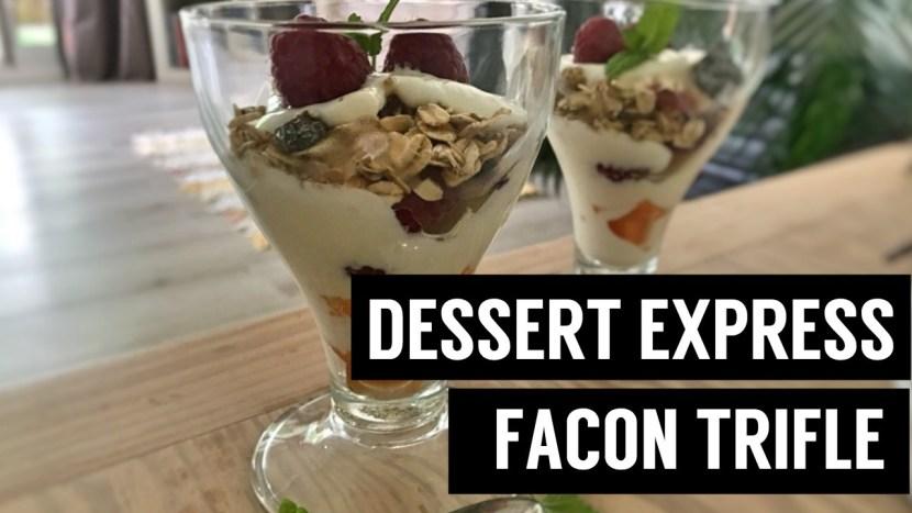 dessert vegan express facon trifle 4 recettes à base de muesli - recettes végétariennes et vegan - atirelarigot