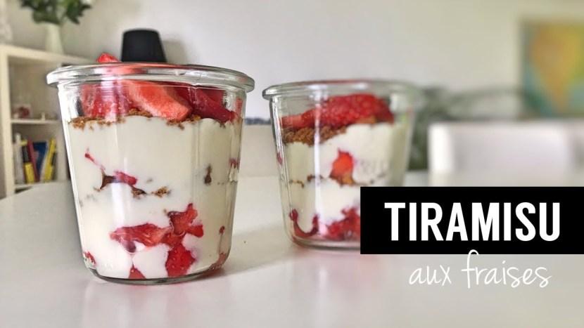 tiramisu aux fraises vegan - recettes végétariennes et vegan - atirelarigot